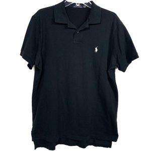 Polo by Ralph Lauren black collar shirt